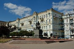 Theatre Square, Kiev Stock Photos