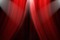 Theatre Stage Curtain Stock Photos