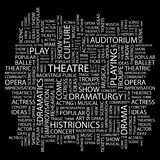 THEATRE. Royalty Free Stock Photography