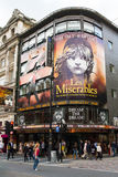 Theatreland en la ciudad de Westminster Fotos de archivo