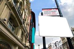 Theatreland in Stad van Westminster Royalty-vrije Stock Foto
