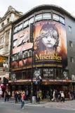 Theatreland in Stad van Westminster Stock Foto's