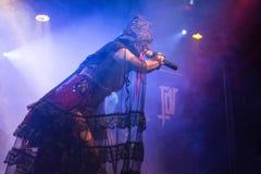 Theatres des Vampires σε Midian ζωντανή Κρεμόνα 06-05-2017 Στοκ Φωτογραφίες