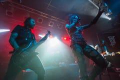 Theatres des Vampires σε Midian ζωντανή Κρεμόνα 06-05-2017 Στοκ εικόνες με δικαίωμα ελεύθερης χρήσης