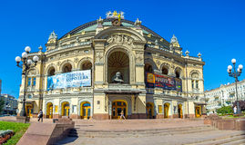 The Theatres of Kiev Stock Images