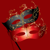 theatrical маски Иллюстрация штока