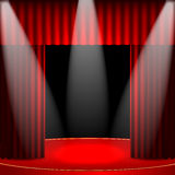 Theatrical background Royalty Free Stock Photo