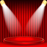 Theatrical background Royalty Free Stock Photos