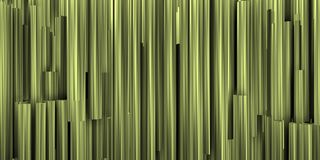 Theatrical background with silver composition of metalic tubes stock image
