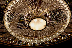 Theatrical chandelier Stock Image