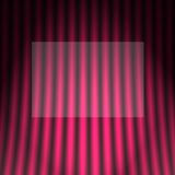 Theatrical curtain Stock Photo
