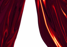 Theatrical curtains Stock Photos