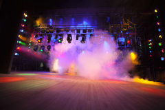 Theatrical light Royalty Free Stock Photo