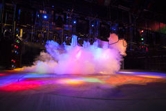 Theatrical light Stock Images