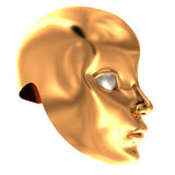 Theatrical mask Stock Images