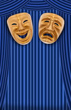 Theatrical mask Royalty Free Stock Photography