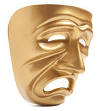 Theatrical mask isolated Stock Photography