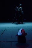 Theatrical maska w butli Obraz Royalty Free