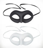 Theatrical masks, vector icon vector illustration