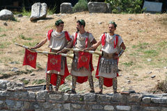 Theatrical performance in Ephesus, Turkey Stock Image