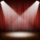 Theatrical scene  Royalty Free Stock Photo