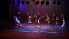 Theatrical show UKRAINE stock video footage