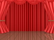 Theatrical Stage Stock Photography
