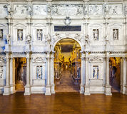 Theatro Olympico by Palladio in Vicenza Stock Images