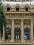 Theatro Pedro II Stock Photos