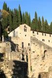 Theatro Romano i Verona royaltyfria foton