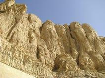 Theban mountain in Luxor Royalty Free Stock Photos