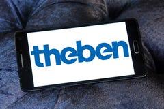 Theben公司商标 免版税库存图片