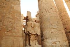thebes de temple de série de karnak de l'Egypte Image libre de droits