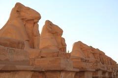 thebes de temple de série de karnak de l'Egypte Photo stock