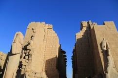 thebes de temple de série de karnak de l'Egypte Image stock