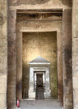 thebes för tempel för egypt karnakserie Royaltyfria Bilder