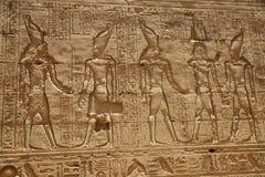 thebes för tempel för egypt karnakserie Royaltyfri Foto