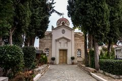 Free THEBES, GREECE - FEBRUARY 5, 2019: The St. Luke The Evangelist Church In Thebes Thiva In Greece Stock Photos - 165251593