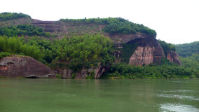 TheCliff Of Bianjiang River Stock Image