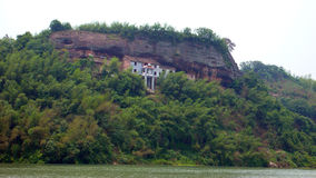 TheCliff Of Bianjiang River Royalty Free Stock Photography