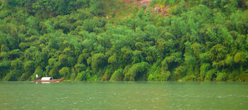 TheCliff Of Bianjiang River Royalty Free Stock Photos