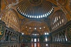 Thecupola de la mezquita de Hagia Sophia, Estambul, fotos de archivo