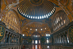 Thecupola of Hagia Sophia mosque, Istanbul, Stock Photos