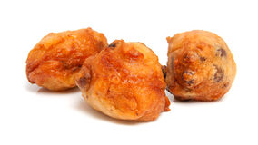 Thee Dutch donut also known as oliebollen Royalty Free Stock Photography