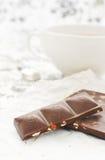 Thee en chocolade Royalty-vrije Stock Fotografie