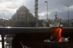 Thee in Istanboel stock afbeelding