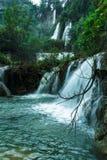 Thee Lor Su vattenfall Royaltyfria Bilder