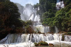 Thee Lor Su waterfall Stock Photography
