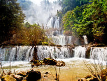Thee Lor Su Waterfall in Thailand Royalty Free Stock Photography