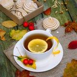 Thee met citroen Royalty-vrije Stock Afbeeldingen